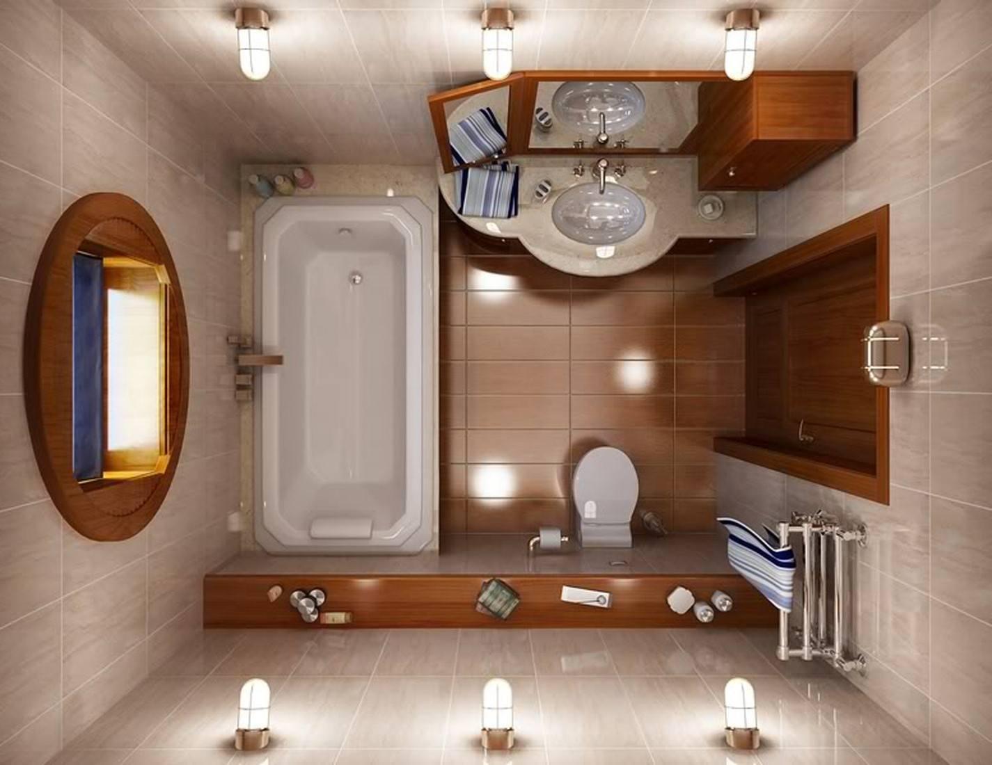 экономия пространства в совмещенном санузле